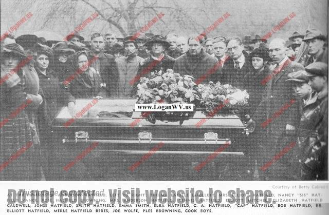 "Funeral of Anderson ""Devil Anse"" Hatfield"