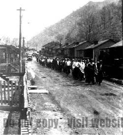 Photo of Dehue Miners, Logan County West Virginia