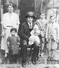 Photo of the Vidovich Family