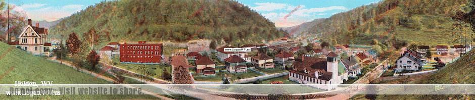 Holden, WV Postcard image