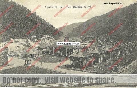Holden, WV about 1910
