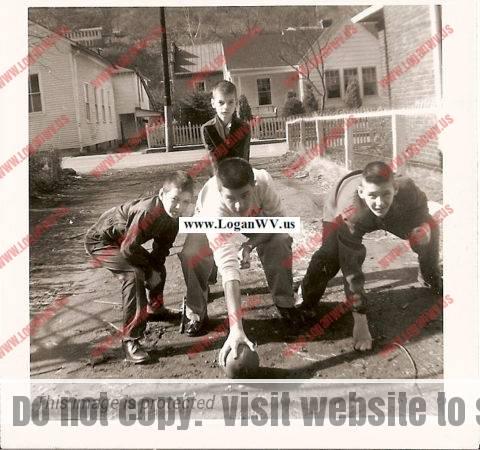Bobby Piros, Joe Piros, Frank Szakal & Bobby Szakal 1955