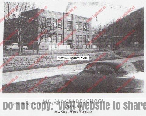 Mt. Gay School 1955-56