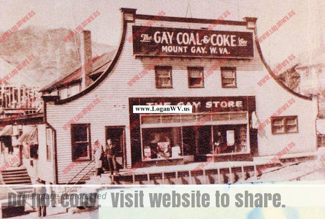 Gay Coal and Coke Co. Mt. Gay WV