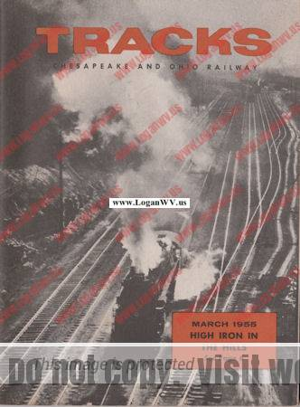 1955 Tracks Magazine  Cover