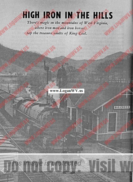 Big Creek Depot, Tracks Magazine, March 1955, Page 6