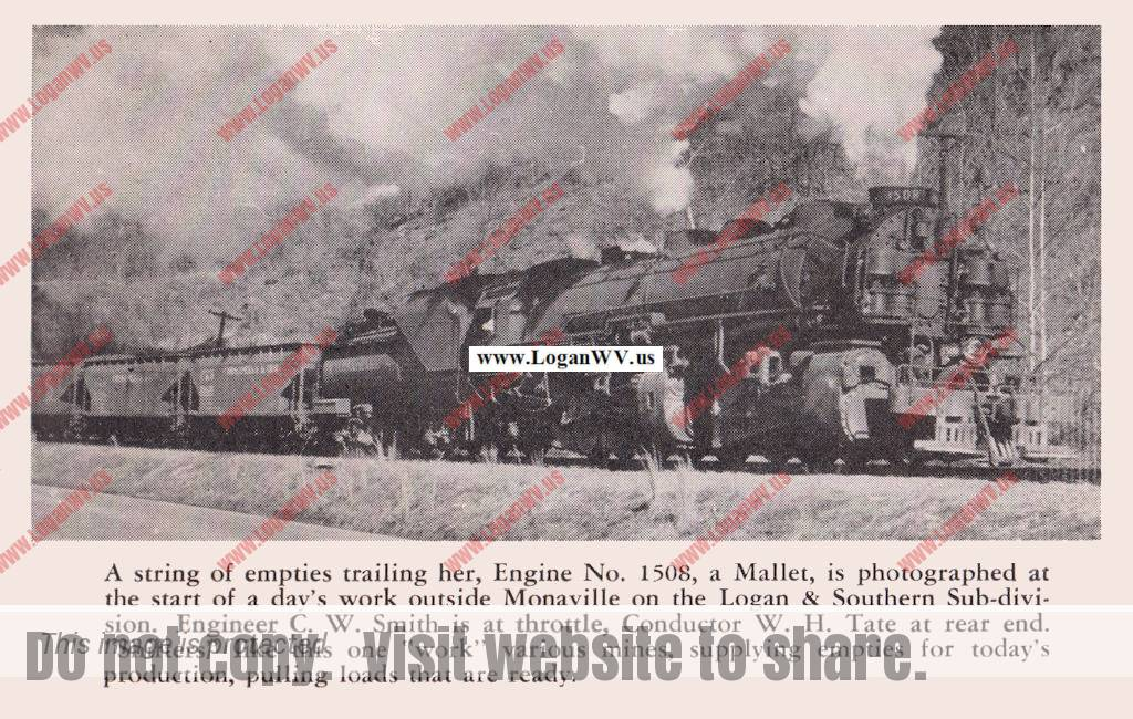 Peach Creek, WV March 1955, Tracks Magazine, Page 9