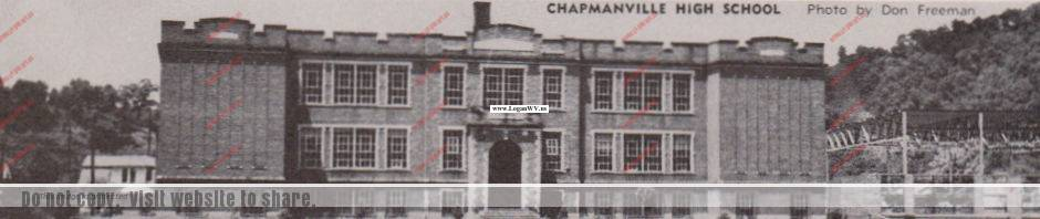 Chapmanville High School in 1952