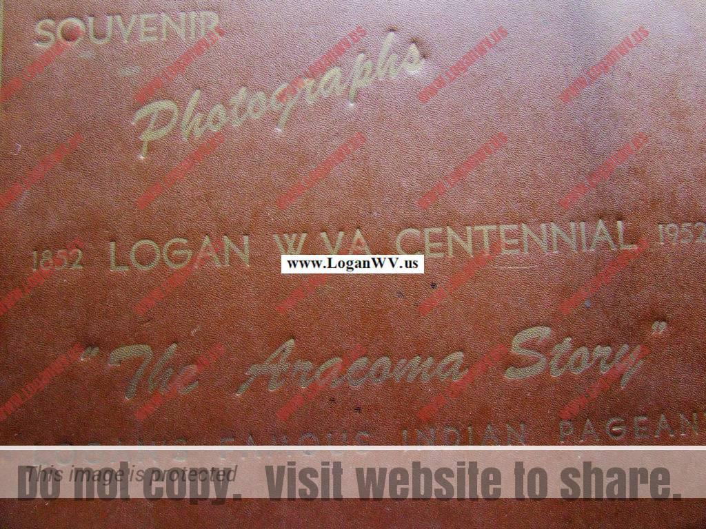 Logan Centennial Celebration 1952, Album Cover