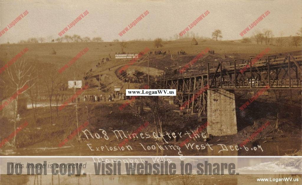 1907 Monongah Mine Explosion killing over 360 miners