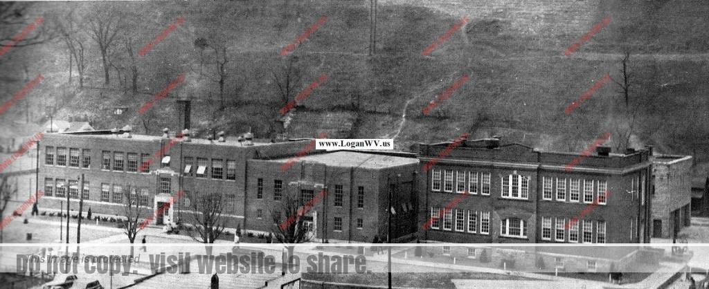 1963 man high school yearbook logan wv history and
