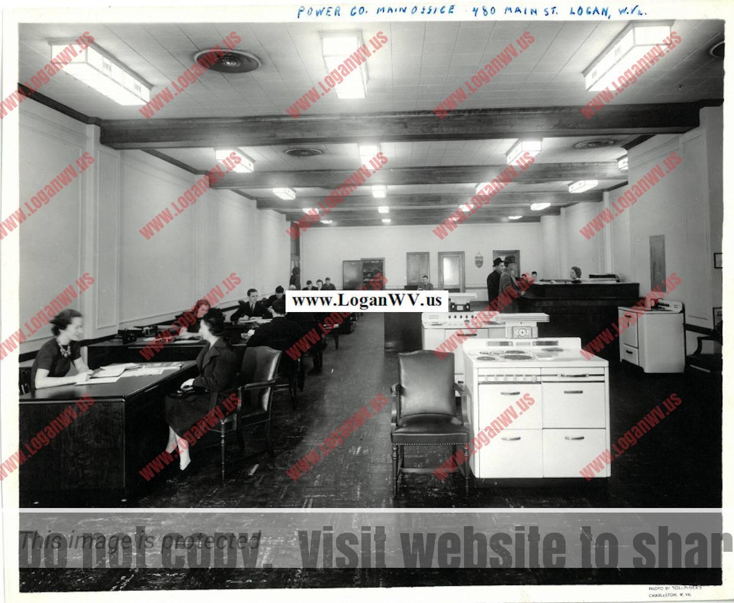 Power Company Main Office, Logan, WV