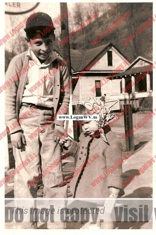 Bruce Davidson & Audrey Augustine - Rev Hattie Hickman home, Oscar Sansom home in background
