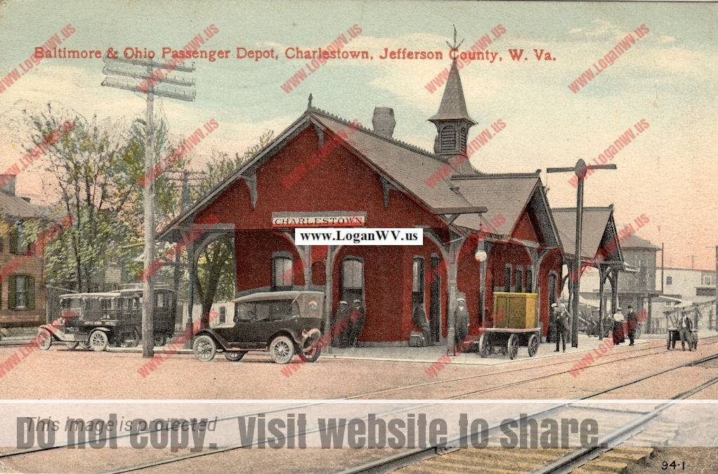 Charlestown, WV Train Depot