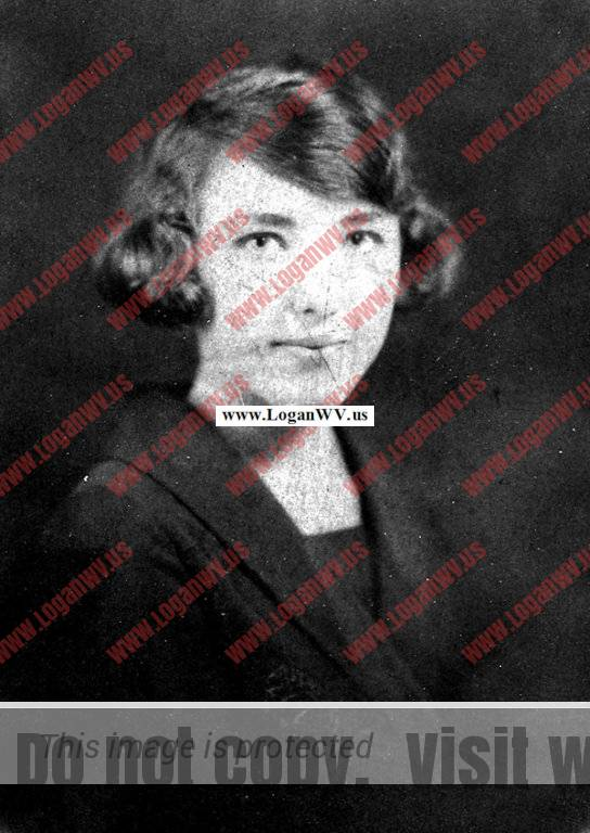 Elizabeth Marie Taylor, graduation from Logan High School in 1927..