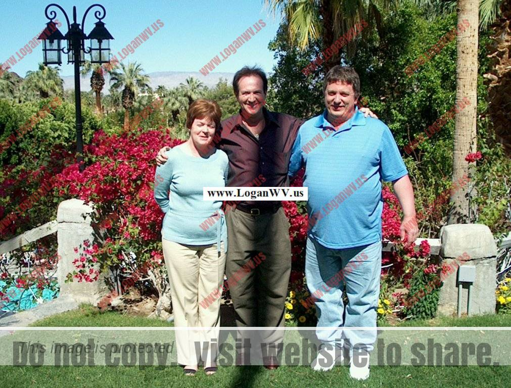 Gerald (Jerry) Stephen Taylor with wife Deanna taken in Palm Springs, CA while visiting cousin Robert McCormack.