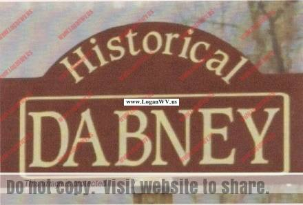 Historical Dabney Sign