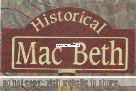 Historical Mac Beth Sign