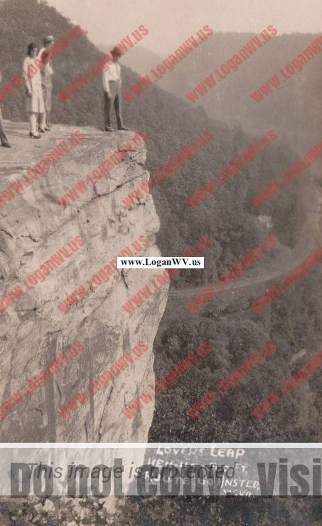 Lovers' Leap, Ansted, WV