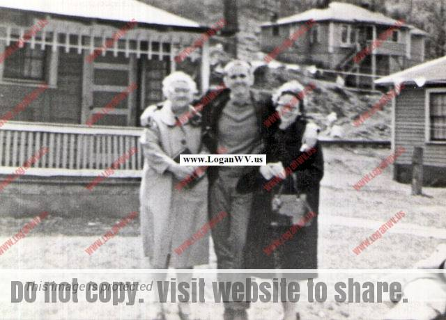 Madge Owsley, Roger Owsley and Ruth Leakee