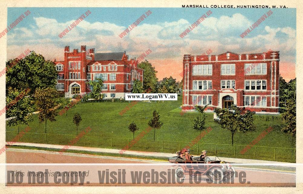 Marshall College, Huntington, WV