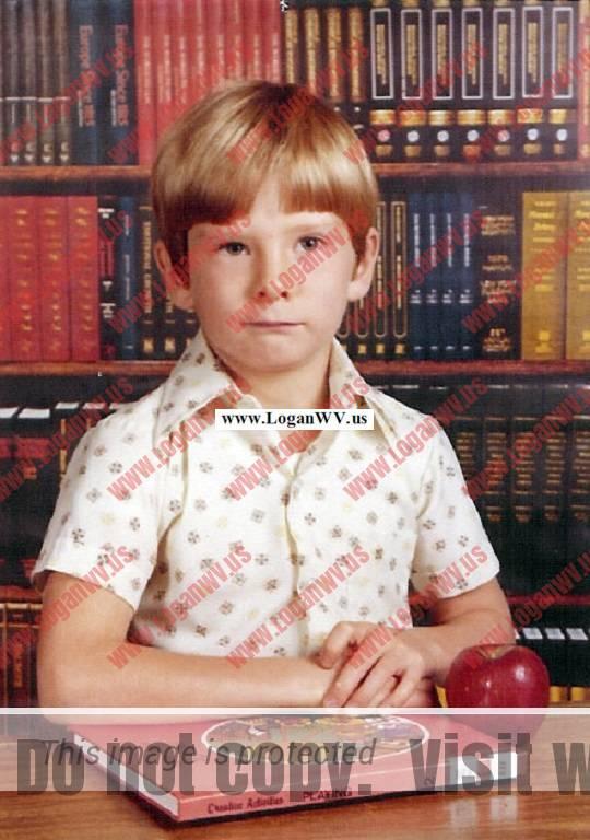 Robb McCormack taken as school in 1981.