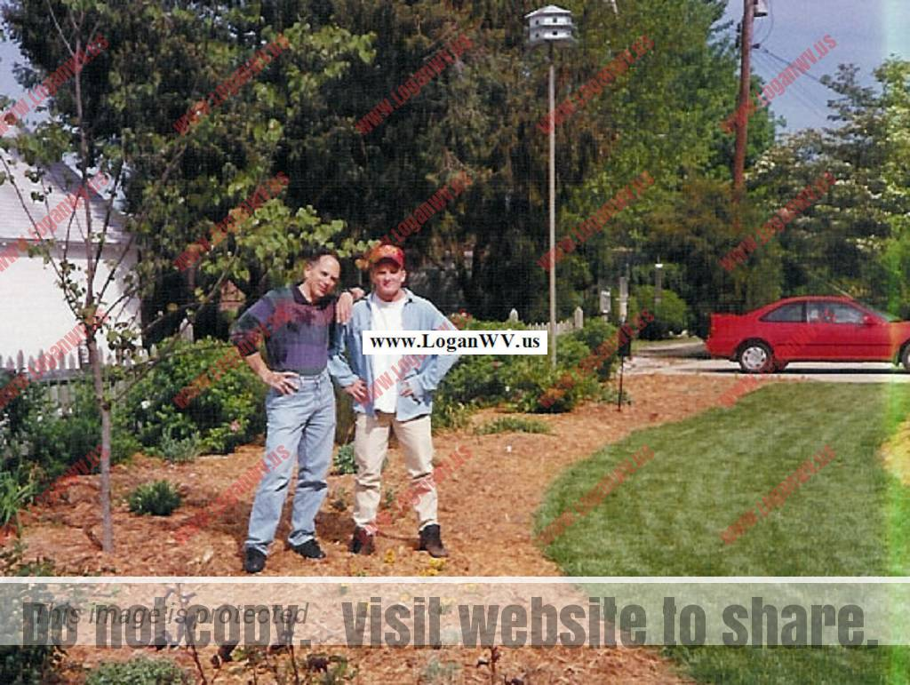Robert McCormack and Robb McCormack at their home on DeVries Circle in Lewes, DE.