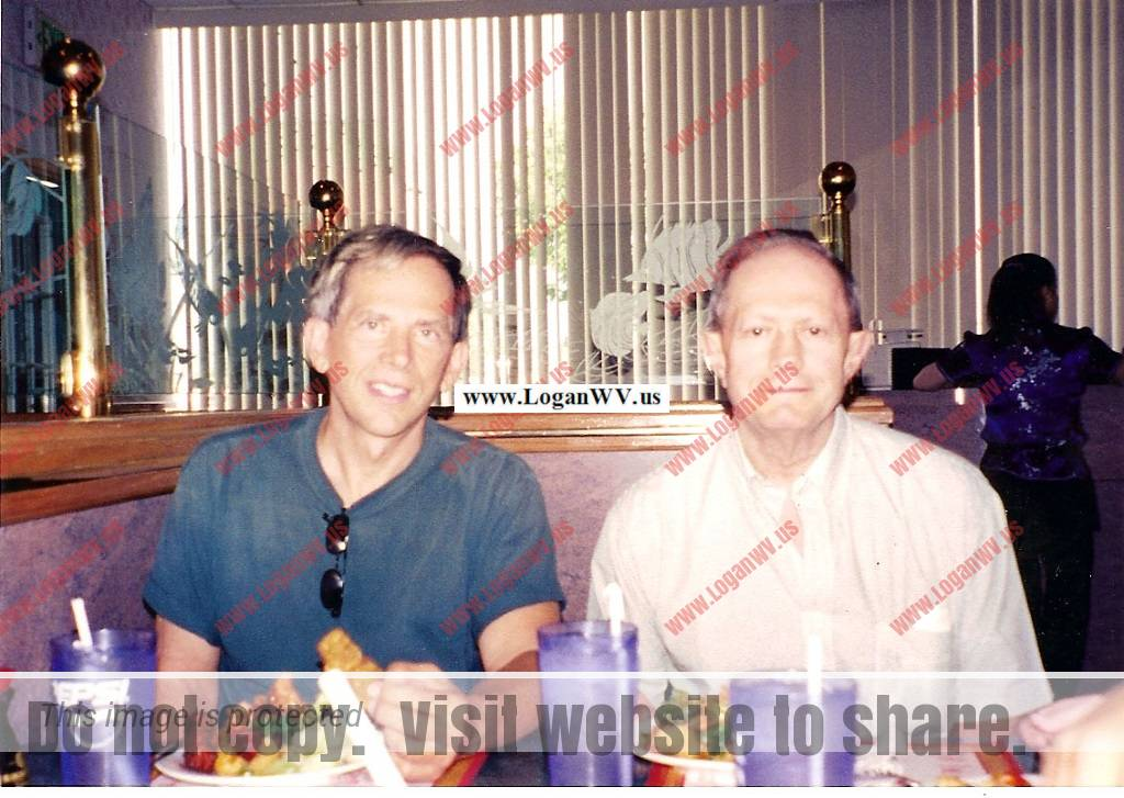 Robert McCormack and Ronald McCormick taken in 2006 during Roberts visit to Chicago.