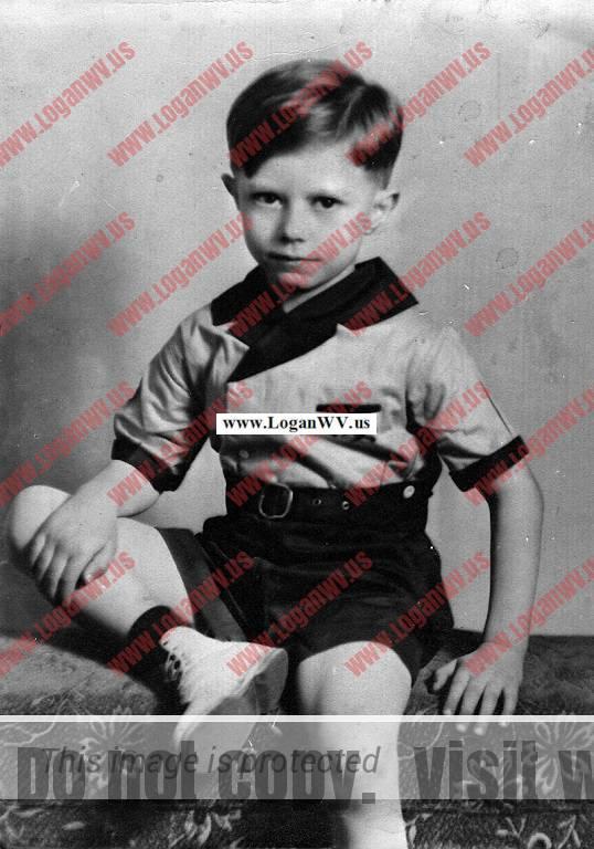 Ronald Charles McCormick at 7
