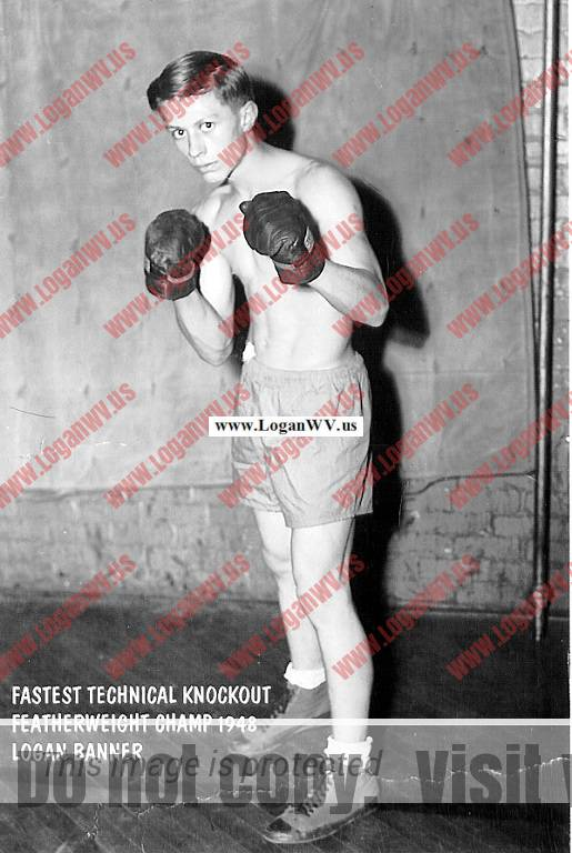Ronald Charles McCormick  Feather weight champion in Golden Gloves, refereed by Jack Dempsey.