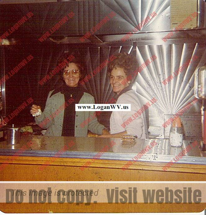 Yolyn Company Store, Eula Fenner and Deloris Carter