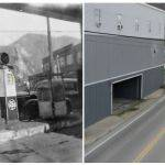 1947 vs 2011. Looks to be the same utility pole in both photos.