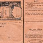 1920s photo envelope