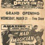 Man Drive-In Ad