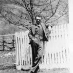 Debriel Berry at the Monaville CemetDebriel Berry at the Monaville Cemetery, Monaville, WV