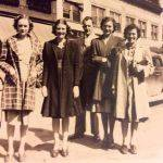 Loretta Vallance, Mary Thompson, Rev. Carl Vallance and wife Laverna, and Helen Thompson of Monaville, WV
