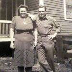 Martha Stepp Thompson and brother, Johnny Stepp Monaville, WV