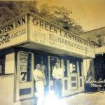Green Lantern restaurant, service station and pharmacy, Man, WV 1930