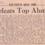 Logan Defeats Top Alumni Team, The Logan Banner, Dec. 29, 1965