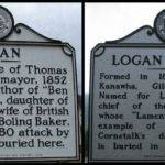Logan County Highway Markers