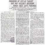 Logan, WV - Pioneers of Guyan Valley Did Not Neglect Religion.