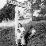 Mallory Sign and Stollings Home