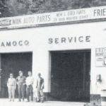 Man Auto Parts and Service Station c1962