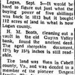 Sept. 6, 1936 Charleston Daily Mail newspaper clipping