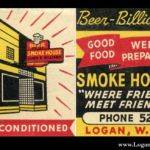 Smoke House Matchbook Cover