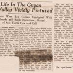 Early Life in the Guyan Valley