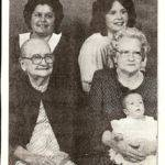 Five Generations - Isabelle Osborn and family courtesy of Patricia Reed