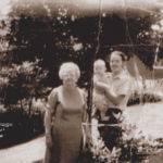 Henlawson, WV August 1971, Mami Ellis, Ernest Ralph Ellis, Sr. and son Ernest Ralph Ellis, Jr