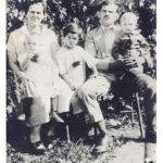 Elizabeth and Jovan Solar with children Olga, Mary and Steve in 1927