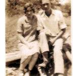 Lizzie Toppins and Herman Browning courtesy of Patricia Reed